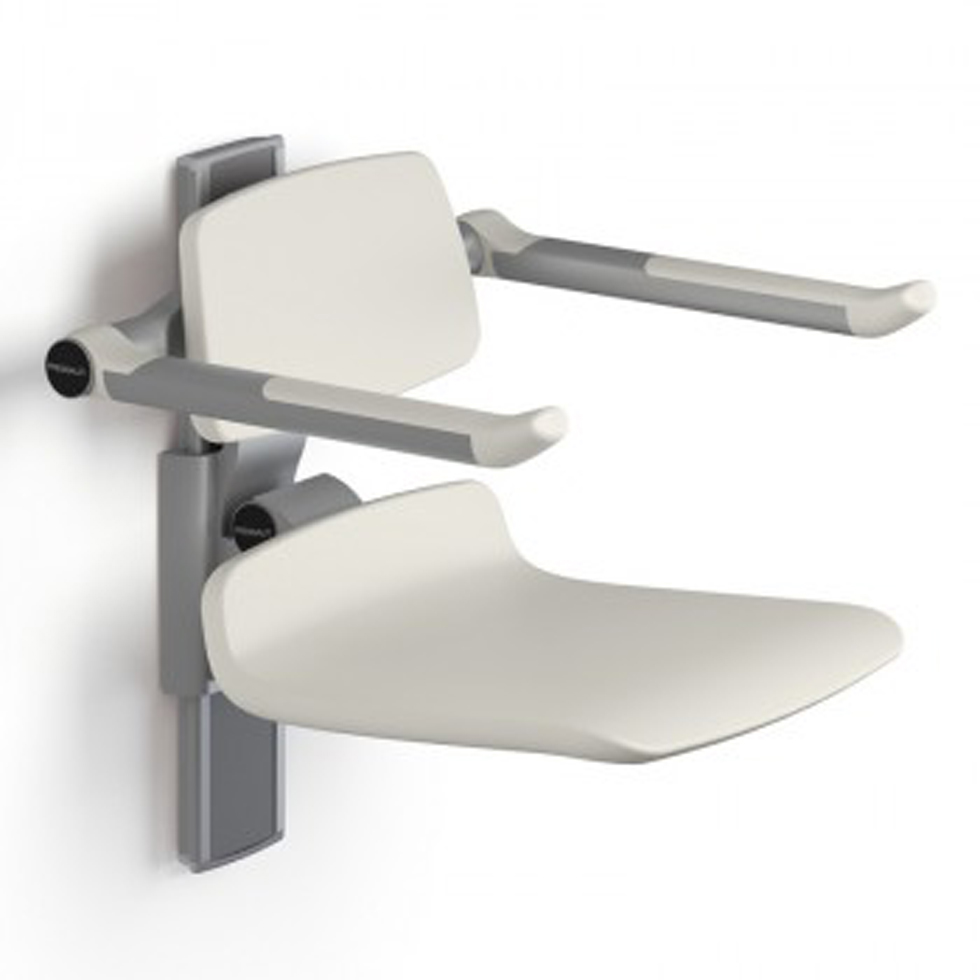 ASIENTO DUCHA ABATIBLE REGULABLE ALTURA